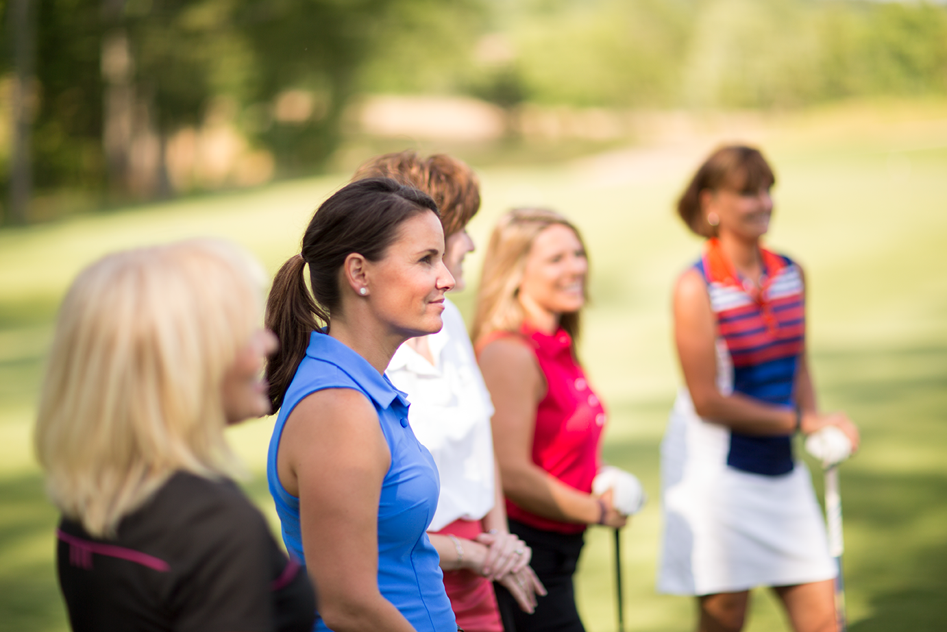 Womens golf instruction