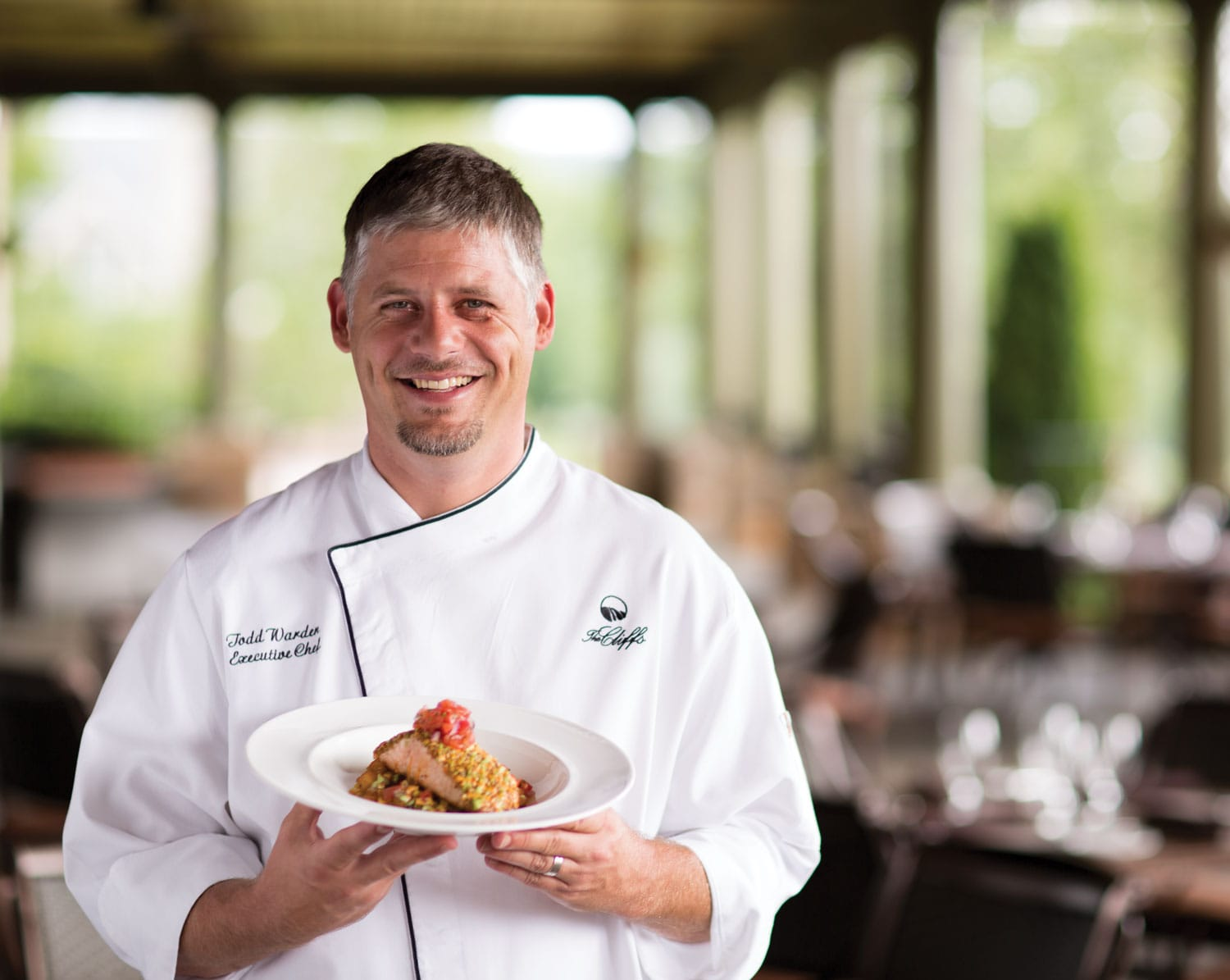 Portrait of Chef Todd Warden
