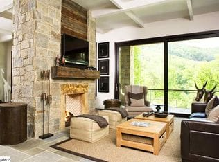 Living room at The Cliffs