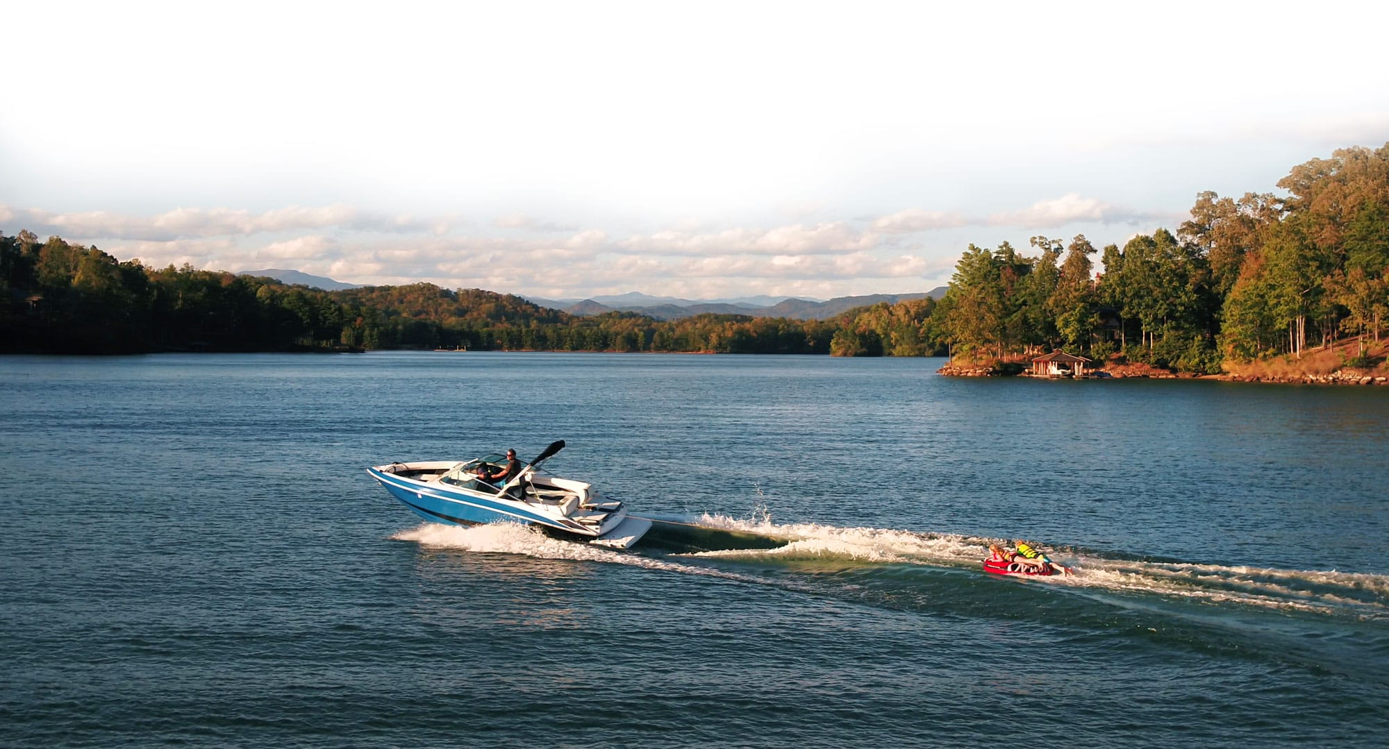 Wakeboarding at Lake Keowee