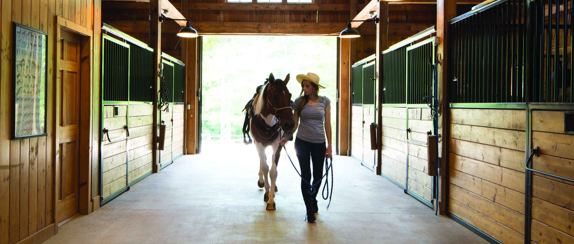 The Equestrian Center at The Cliffs at Keowee Vineyards