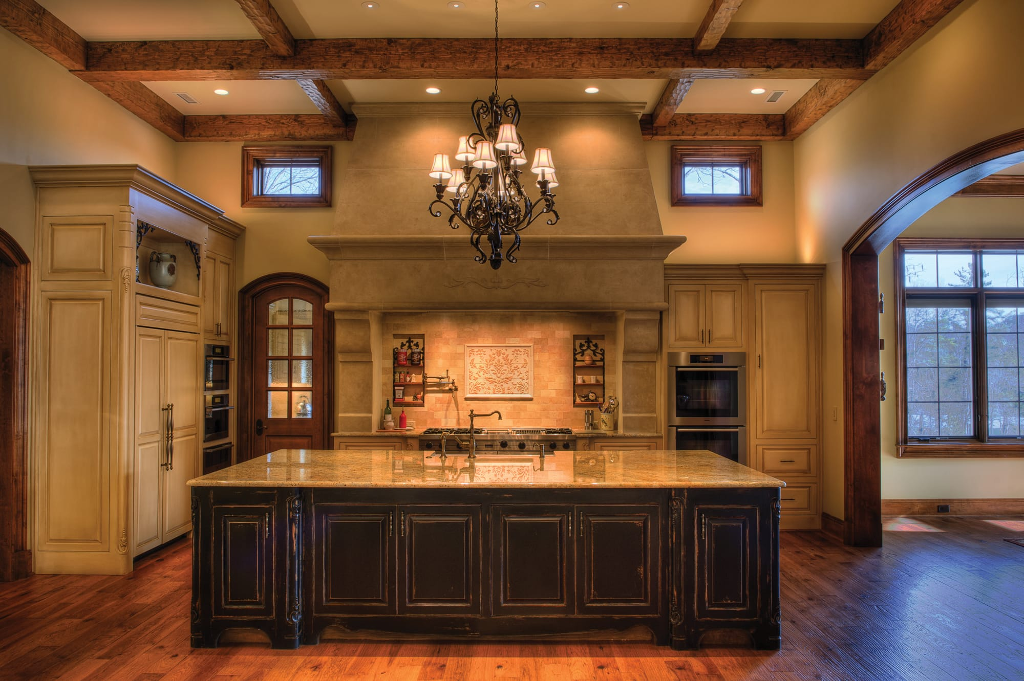 Beautiful Kitchen Island | The Cliffs