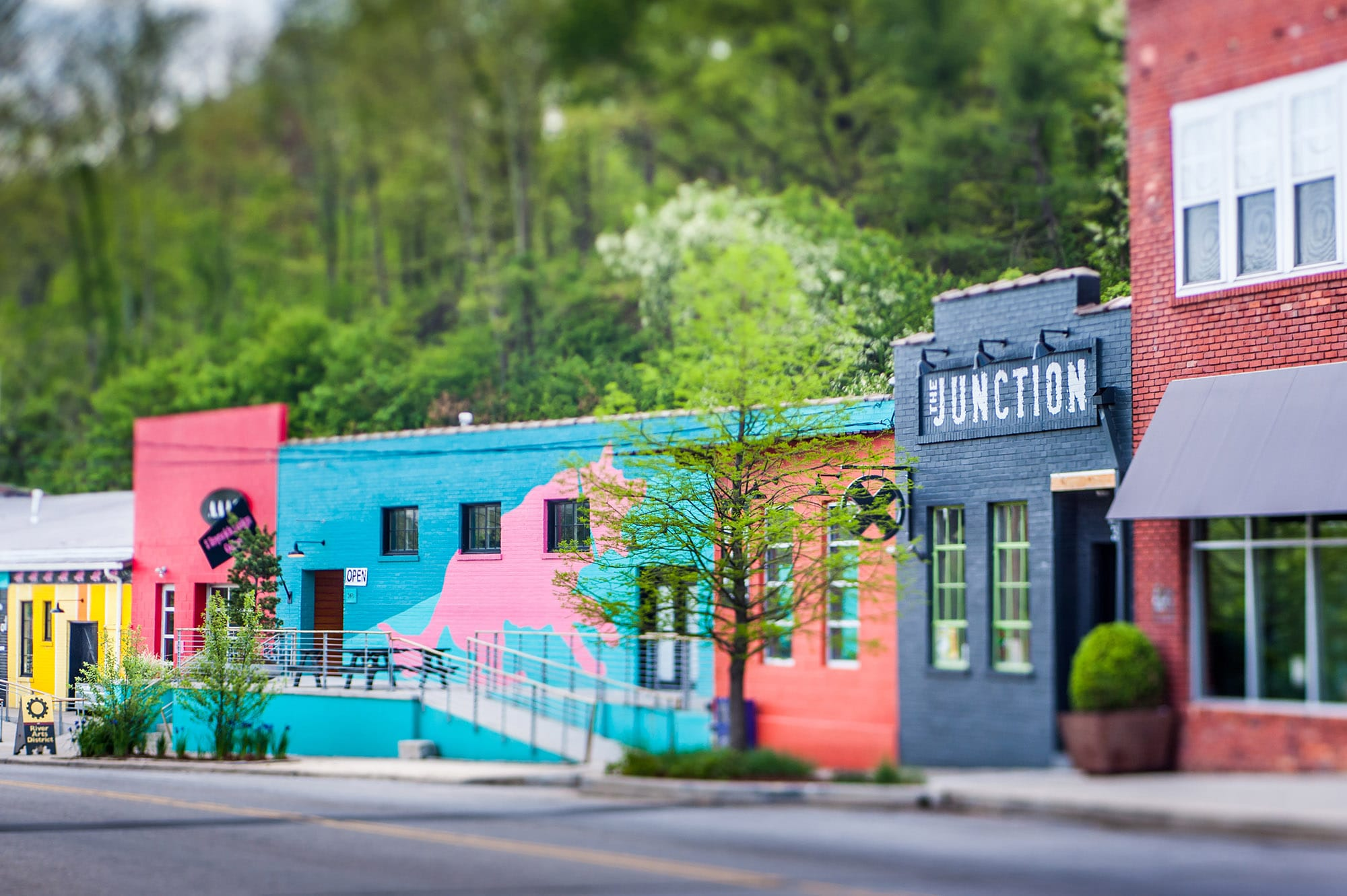 River Arts District, Asheville North Carolina