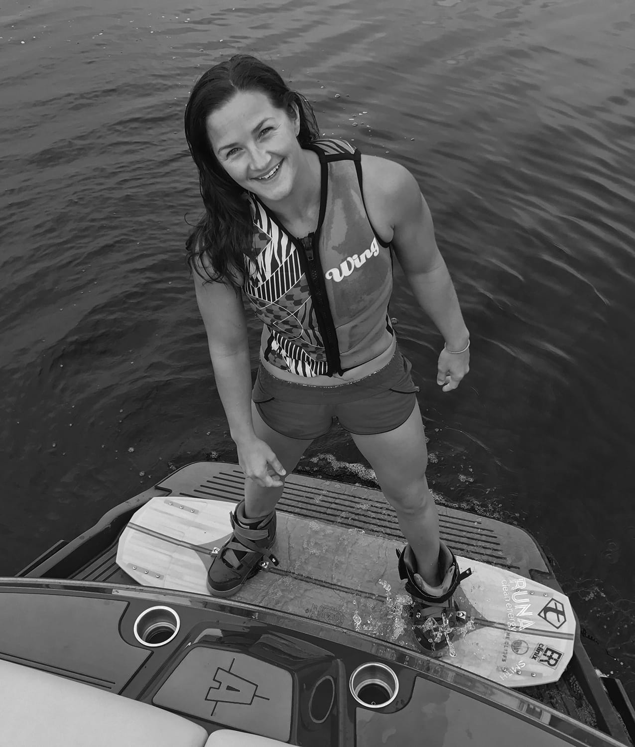 Portrait of Abby Delgoffe, The Cliffs Wakeboarding Coach