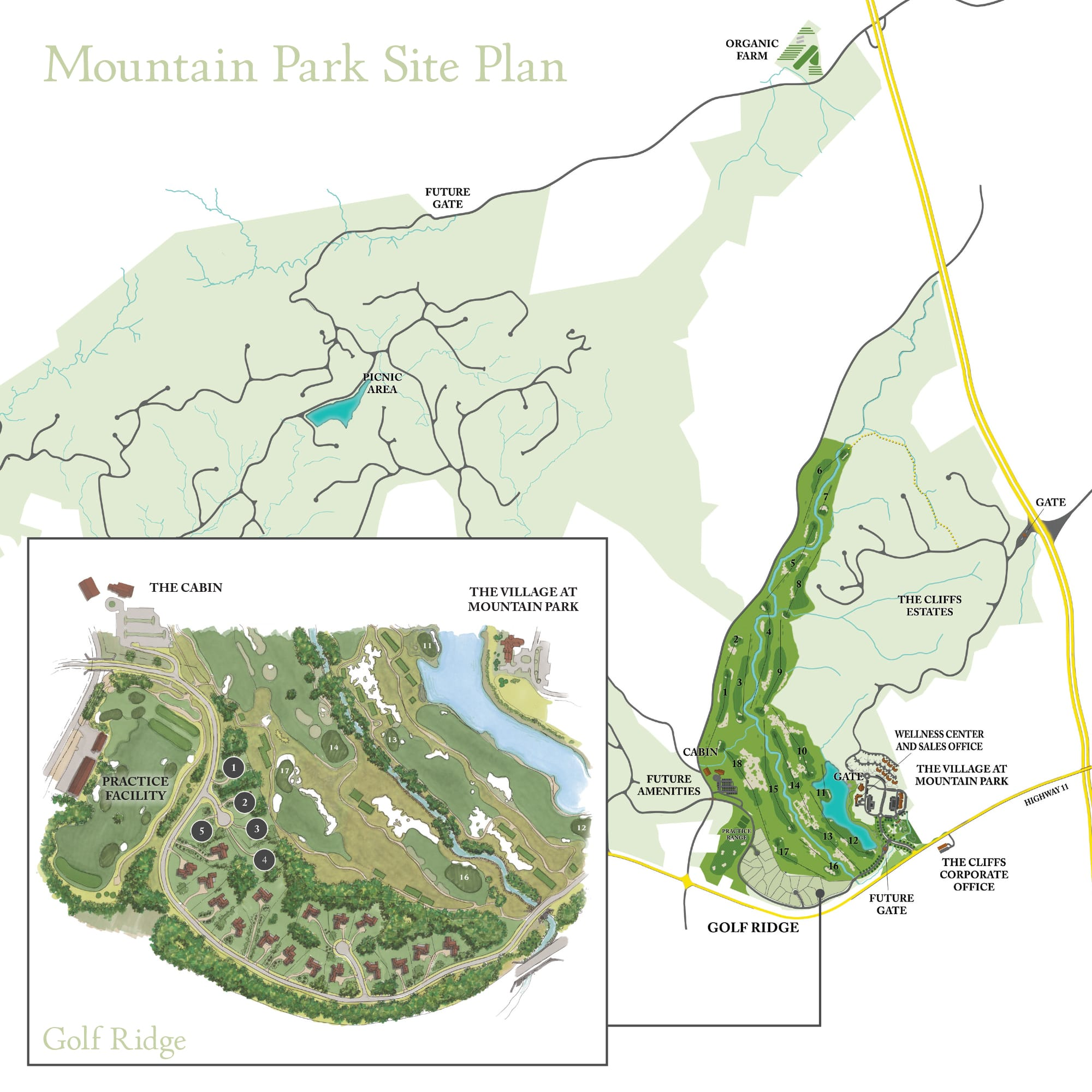 Mountain Park Site Plan