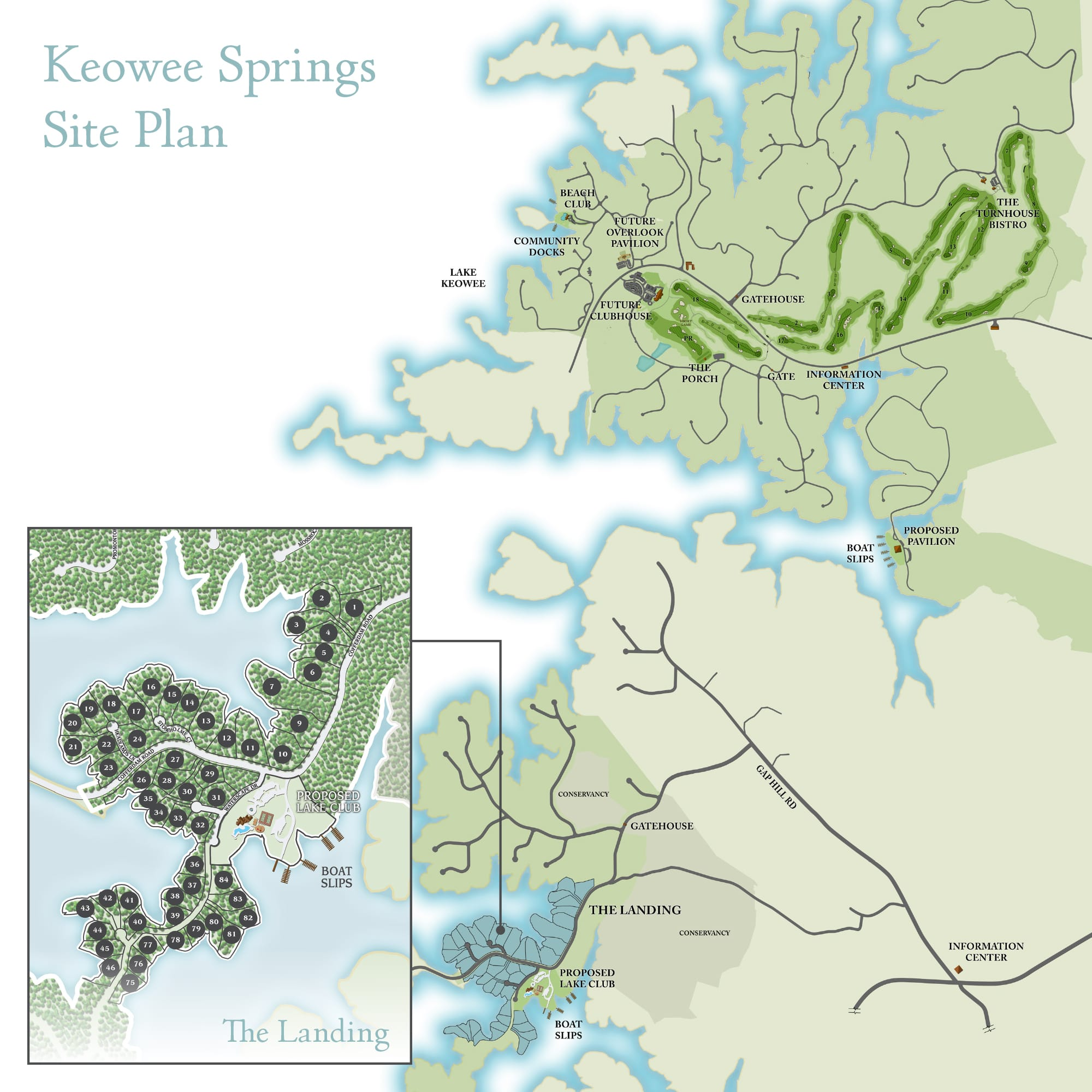 Keowee Springs Site Plan
