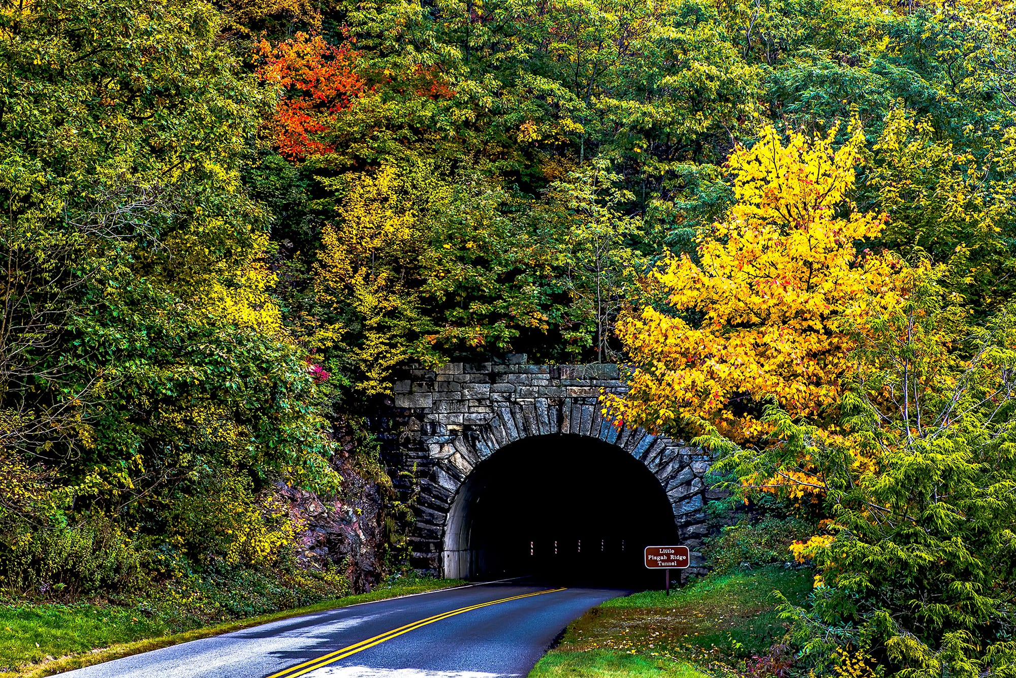 Tunnel on The Blue Ridge Parkway
