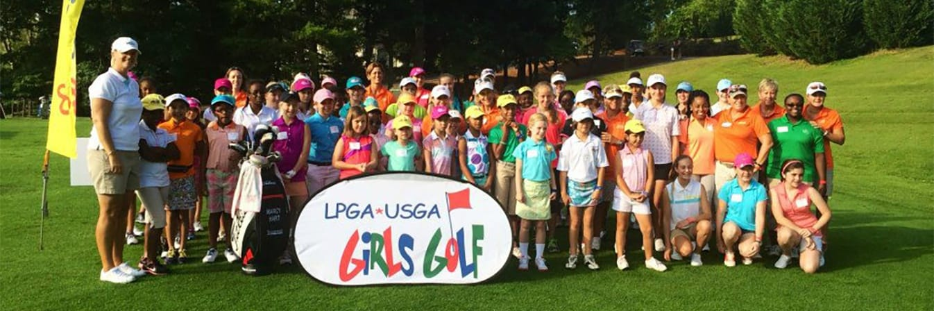 Girls Golf group photograph