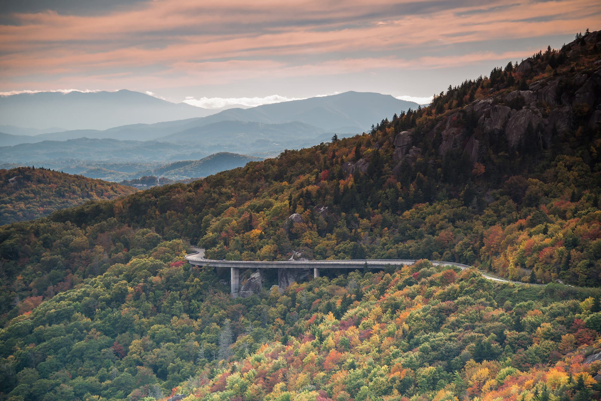 View of The Blue Ridge Parkway