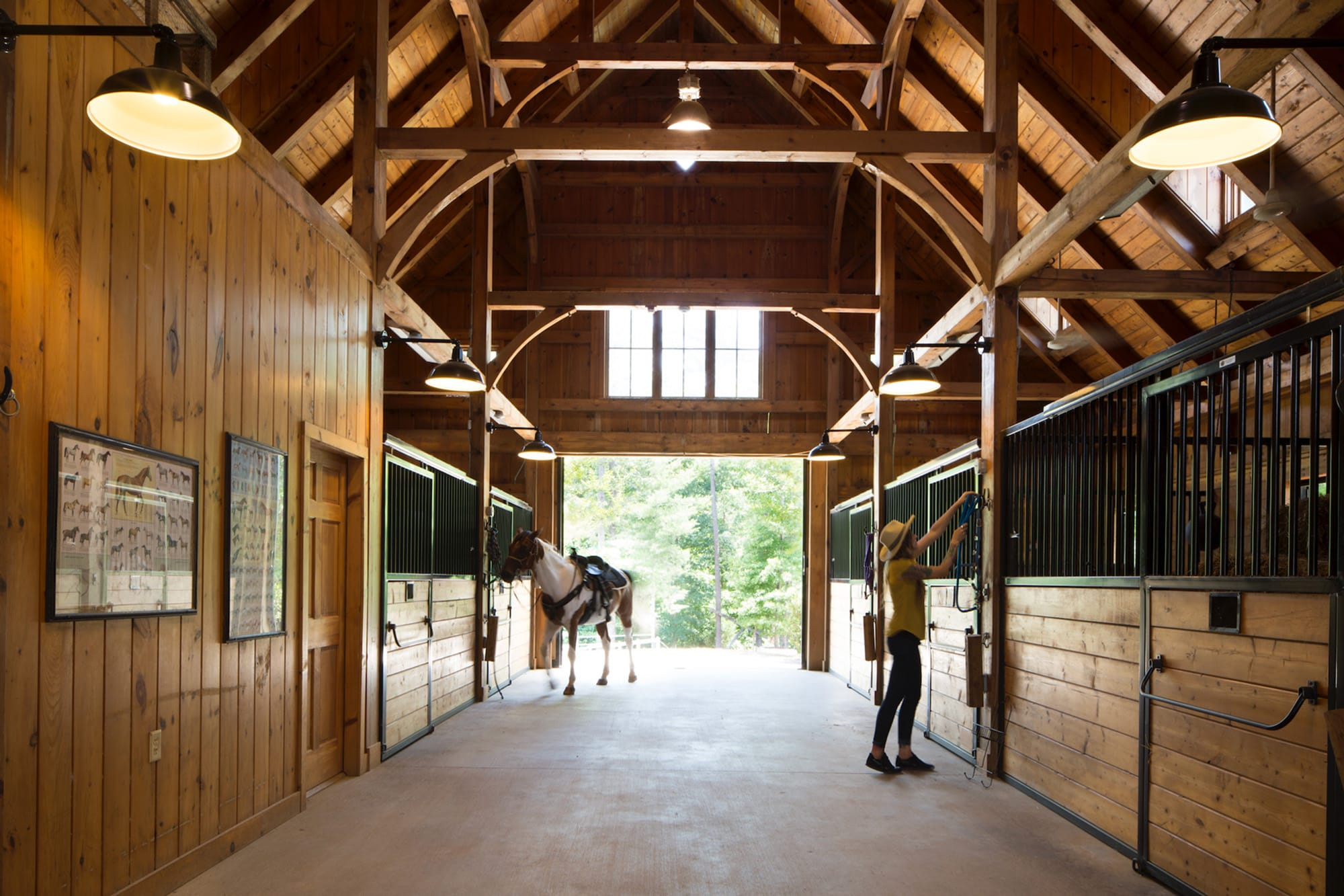 Equestrian Center at The Cliffs at Keowee Vineyards