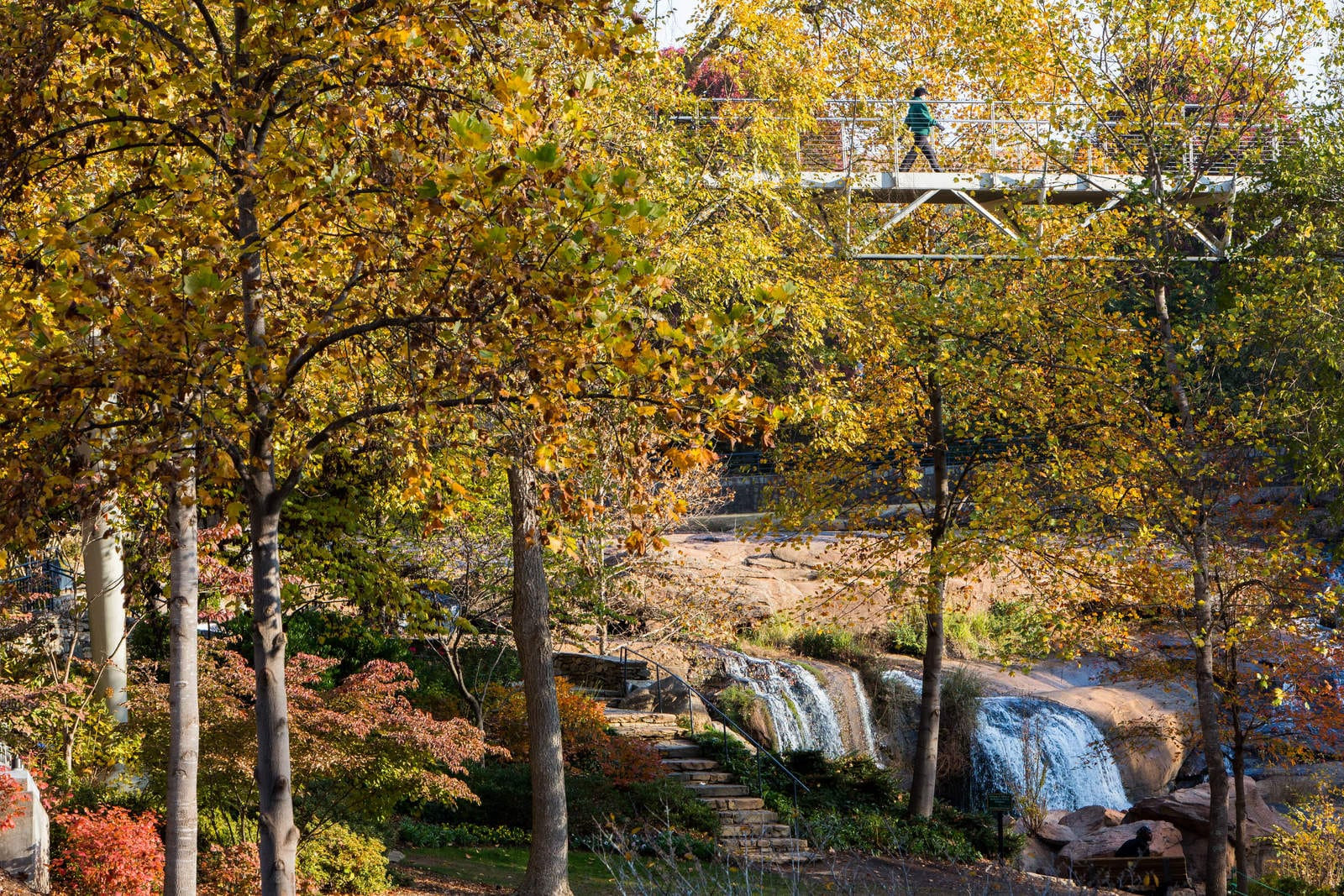 Falls Park on the Reedy River, Greenville SC