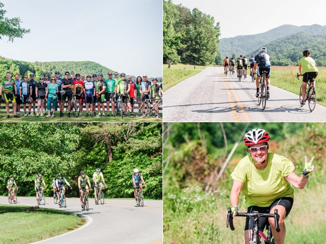 June Ride Collage