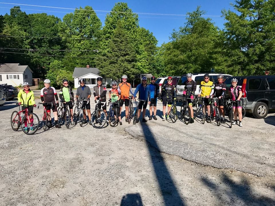 Ride with George Cliffs Cycling