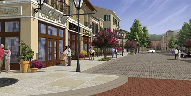The Cliffs Village at Mountain Park rendering