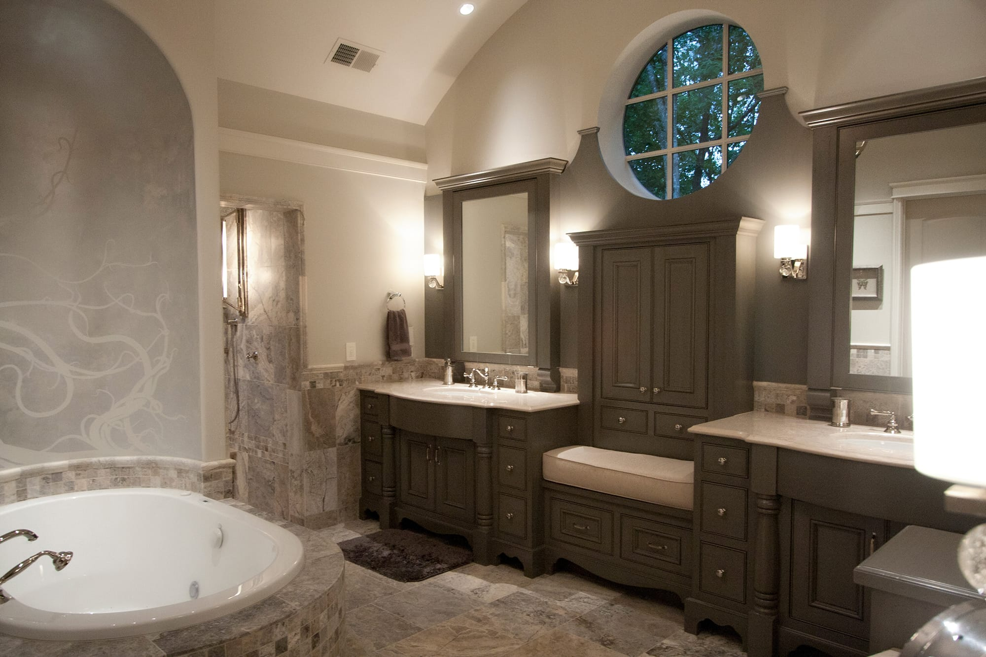 Bergeron Custom Homes interior at The Cliffs
