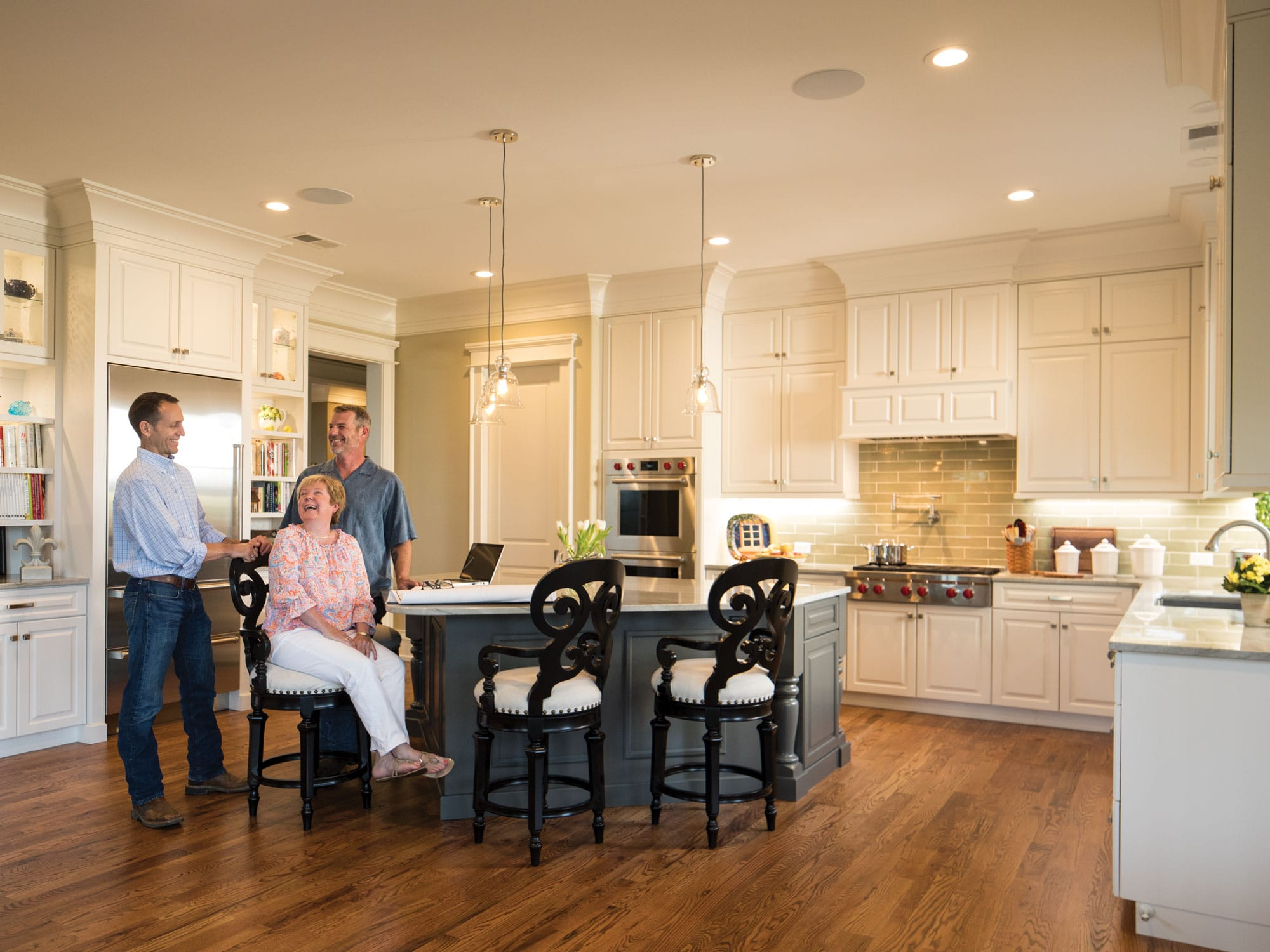 Bergeron Custom Homes kitchen at The Cliffs