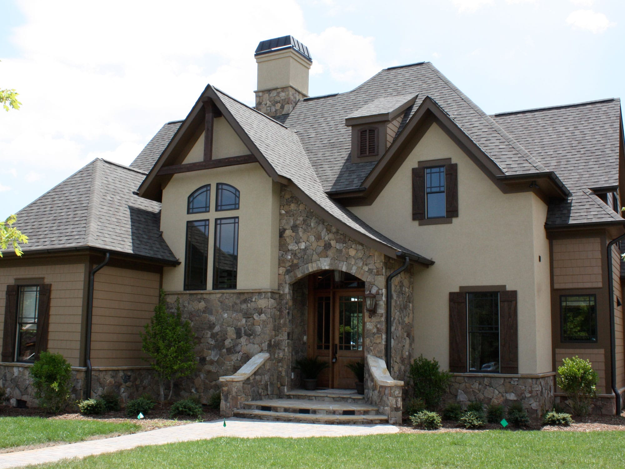 Evergreen Custom Construction home at The Cliffs