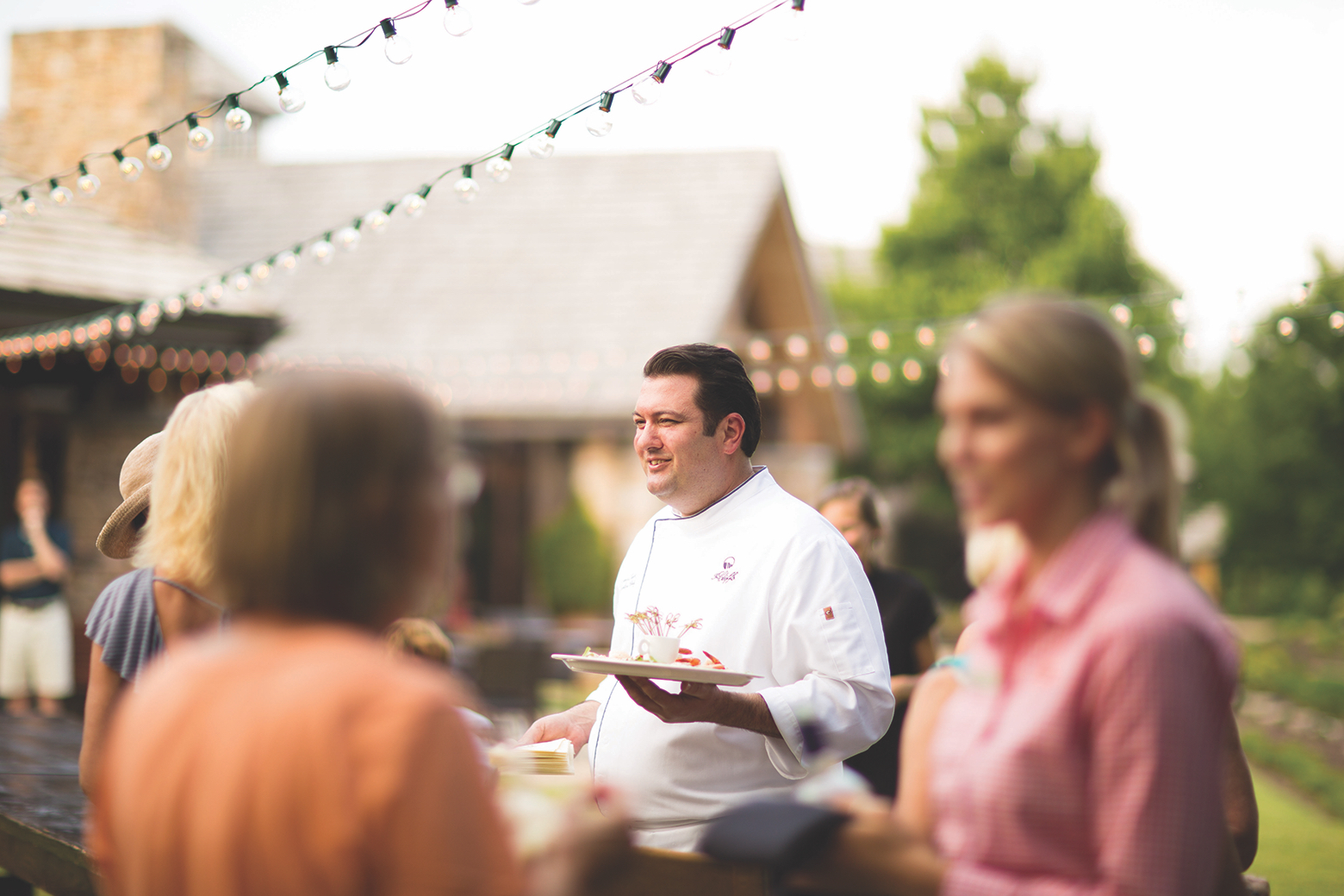 Chef Turck at Keowee Vineyards