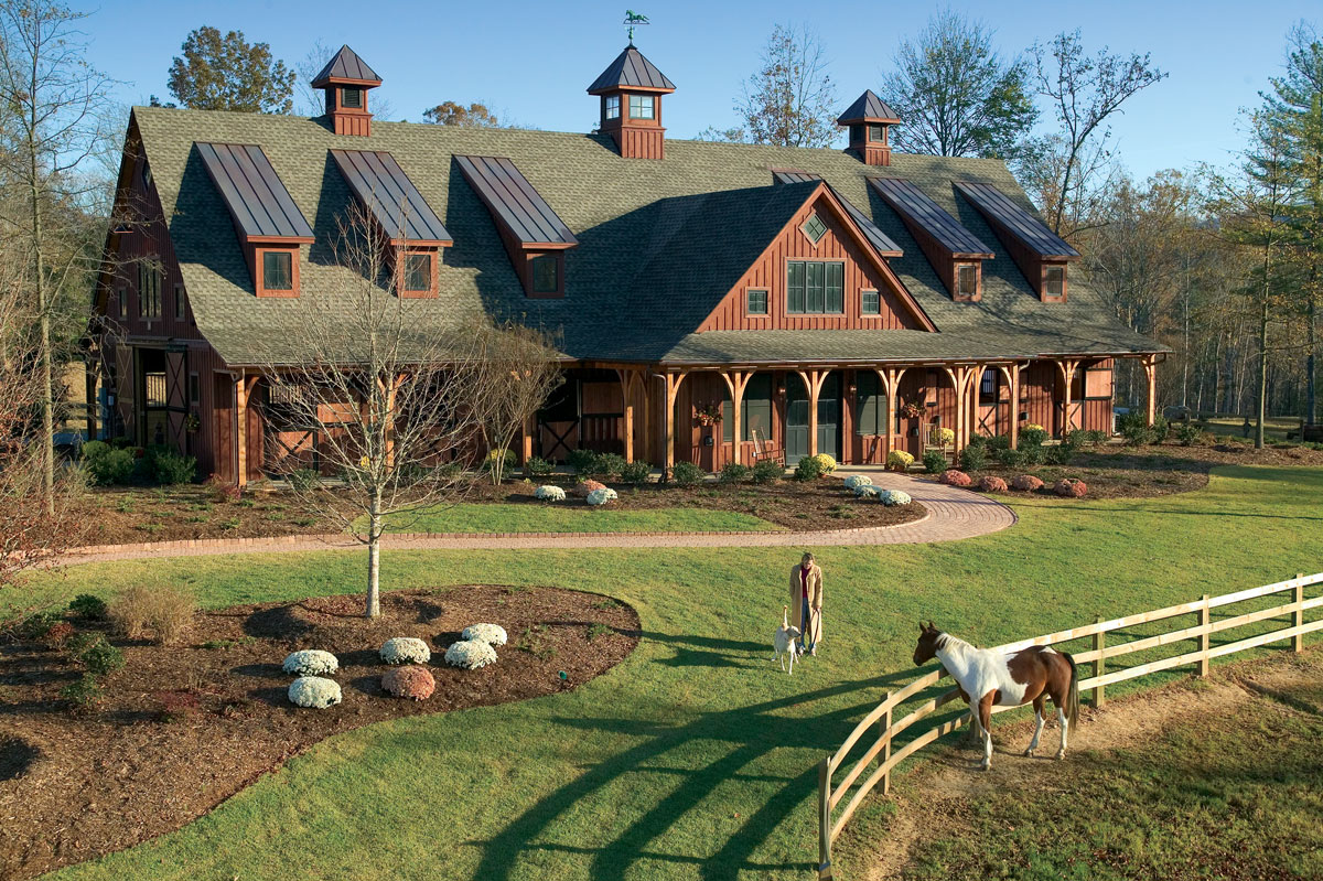 The Equestrian Center at Keowee Vineyards