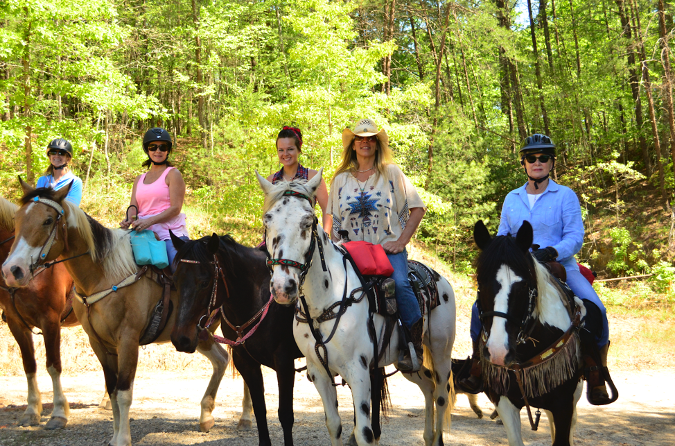 Keowee Vineyards Horses and Riders