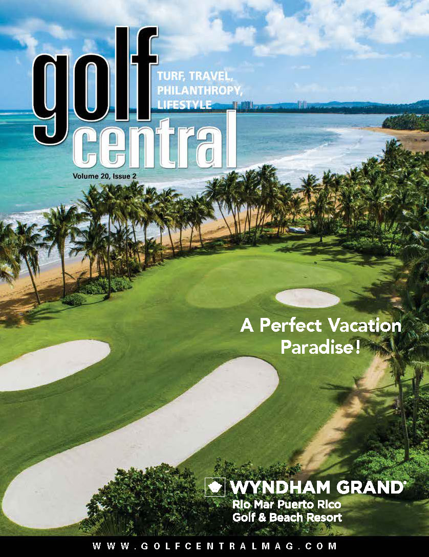 May 2019 Golf Central Front Cover