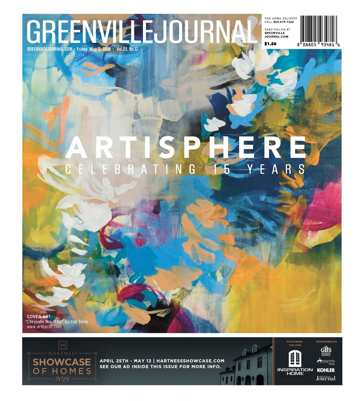 Greenville Journal Cover May 2 2019