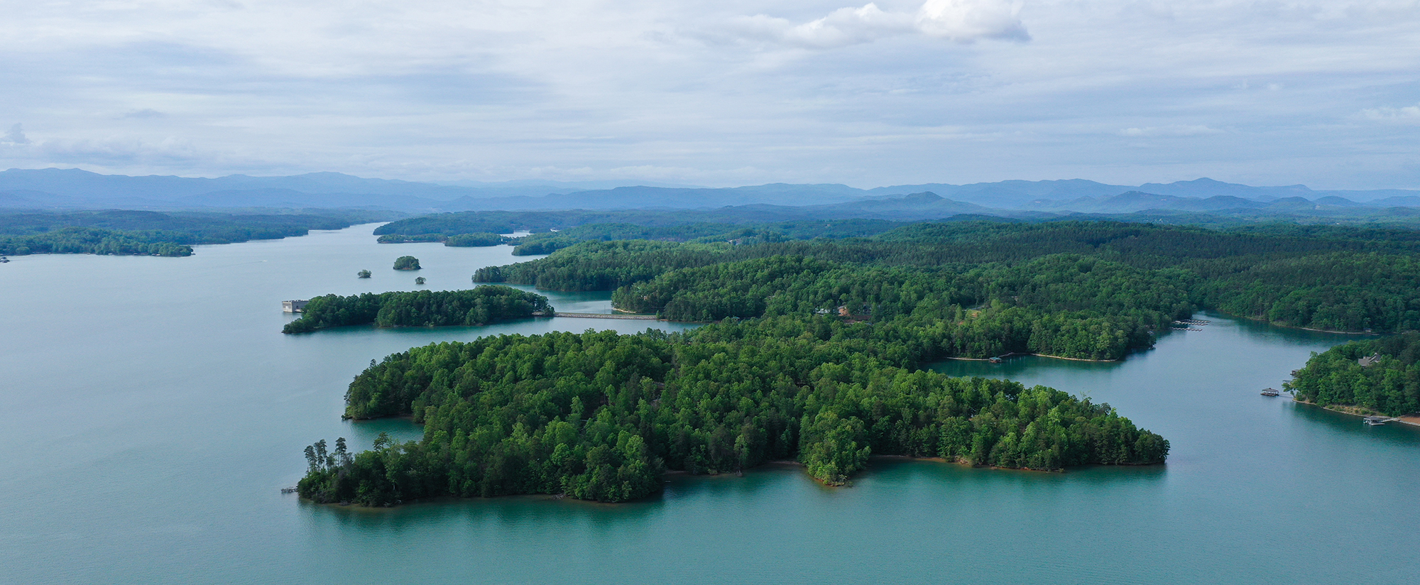 The Landing at Keowee Springs - Aerial View